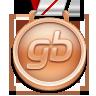 Médaille de Bronze Playstation